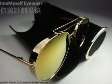 [ ImeMyself Eyewear ] Watanabe Toru Pure Titanium Aviator Sunglasses big bully