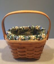 Longaberger 1997 Horizon Of Hope Basket Combo Excellent!