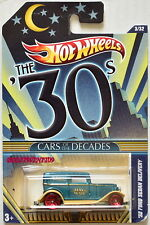 HOT WHEELS THE '30S CARS OF THE DECADES '32 FORD SEDAN DELIVERY