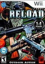 Reload (Nintendo Wii, 2010) Complete Flawless Shooting Game