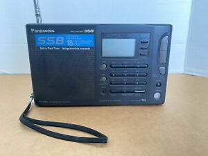 Panasonic RF-B45 FM-LW-MW-SW Portable Shortwave Radio Receiver WORKS
