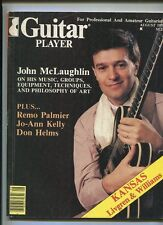 Guitar Player  aug 1978 #8 John McLaughlin Remo Palmier Jo-Ann Kelly     MBX7