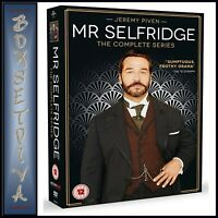 MR SELFRIDGE THE COMPLETE SERIES SEASONS 1 2 3 4   BRAND NEW DVD BOXSET