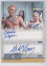 2013 Dual Autographs #DA28 Charles Napier as Adam Deborah Downey Mavig Auto 0c3