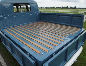 1968-1979 Volkswagen Bus Double Cab Plank Bed Wood 15 Piece Slat Kit 327920