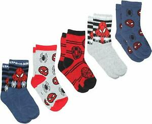 Boys Spiderman Socks 3 Pack Marvel