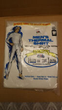 "Vtg NOS Fruit of the Loom Golden Thermal ""Waffle"" Shirt, Long Underwear Sz Med"