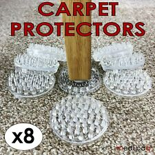 MEDIPAQ™ 8x Carpet Savers - Protect Floors - No More Furniture Marks Chair Table