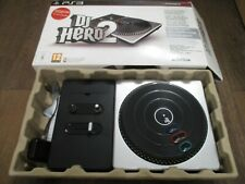 PS3 Sony Playstation 3 game DJ Hero 2 & Turntable VGC inc dongle & instructions
