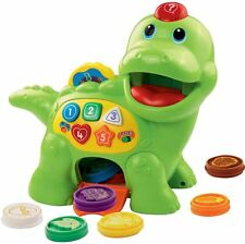 Vtech FEED ME DINO Interactive Colour Shape & Counting Game Toddler/Child BN