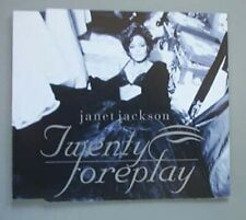 JANET JACKSON TWENTY FOREPLAY CD SINGLE 4 TRACK EU