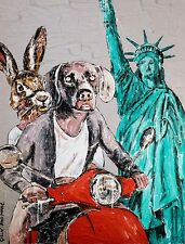 GILLIE AND MARC. Direct from the artists. Authentic Art Print 'New York' 'Love'