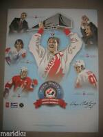 Rare Wayne Gretzky Greatest moments Pepsi promo Poster Team Canada