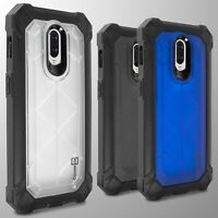 For OnePlus 6T Case Hybrid Tough Shockproof Protective Hard Phone Cover