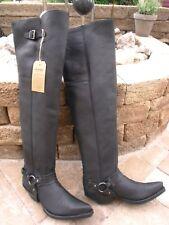 Sendra musketierstiefel 7977-Cuervo-Ibiza negro mate (sp. neg.) talla 9 = 43