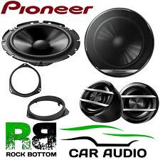 Pioneer Vauxhall Vivaro 2001 Onwards 600W Component Front Door Car Speakers