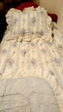Vintage Jessica McClintock Twin Bed Set made in US
