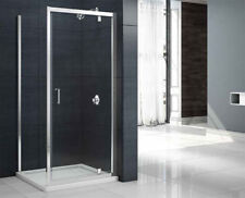 MERLYN MBOX Pivot Door Shower Enclosure 1000mm Easy Clean Glass