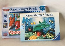 Ravensburger Jigsaw Puzzles Lot of 2 Complete Disney Planes Dolphin Duo