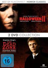 HORROR CLASSICS  HORROR CLASSICS - HALLOWEEN II/DEAD ZONE  2 DVD NEU