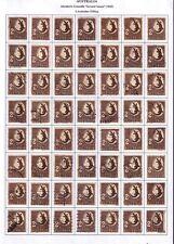 "1948 Australia ""Johnston's Crocodile"" 2 s Used 56 Stamps"