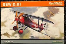 Eduard 1/48 SSW D.III Profipack 8256