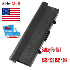 Extended 7800mAh Battery 0GW240 for Dell Inspiron 1525 1526 1545 RU583  9 Cell #