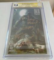 Dark Knight III #1 CGC SS 9.8 4x Sigs- Frank Miller, Azzarello, Kubert, Janson