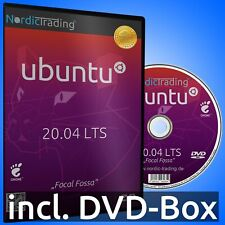 NEU: Ubuntu 20.04.3 LTS DVD Linux Betriebssystem Markenware