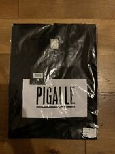 Pigalle Paris Box Logo Tshirt Black Sz M New Supreme Off White Jordan Travis TNF