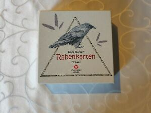 Rabenkarten Orakel, Orakel-Kartenset, Gabi Bücker, Esoterik, Magie, Orakel