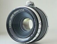 [Very Good] Canon 35mm F/2.8 MF Lens L39 Mount for LTM Leica Camera from Japan