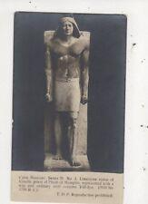 Cairo Museum Statue Of Ranofir Vintage RP Postcard Egypt 966a