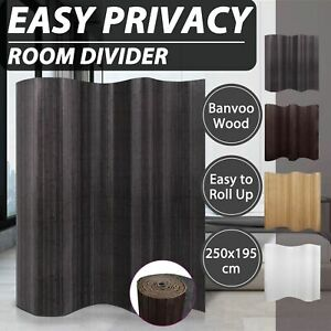 vidaXL Room Divider Bamboo Decor Privacy Screen Blinds Panel Multi Colours