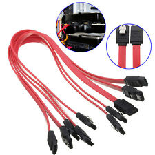 5X 40cm Serial ATA SATA RAID Straight to Right Angle DATA HDD Hard Drive Cable