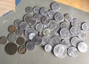 Job Lot USA Mixed Coins Inc 19th Century