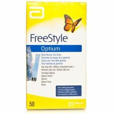 Freestyle Optium Blood Glucose Diabetic Test Strips **BRAND NEW & SEALED**