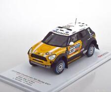 1:43 True Scale Mini Countryman All4 #307, Rally Dakar 2013
