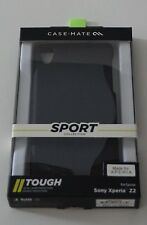 Case Mate Sony Xperia Z2 Sport Collection Dual Layer Thin Slim Case Black