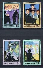 40164) AUSTRALIA 1991 MNH** Golden Radio times 4v