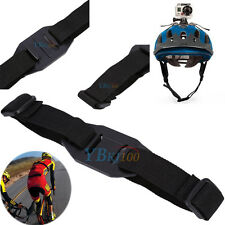 Camera Gopro HD Hero 2 3+ 4 Bicycle Vented Helmet Safety Strap Mount Adapter