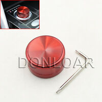 Autobiography Style Rotary Gear Shift Selector Knob Red For Range Rover