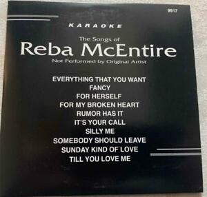 REBA MCENTIRE KARAOKE CDG DISC BACKSTAGE CD+G COUNTRY MUSIC SONGS CD CD+G