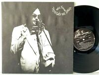 Neil Young Tonight's The Night Promo Promotional + Booklet LP Vinyl Record Album