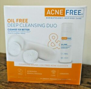 New! Acne Free Oil Free Deep Cleansing Duo (2021)