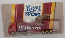 GRELL HO 1/87 CAMION SEMI TRUCK TRAILER VOLVO FH 16 RITTER HALBBITTER CHOCOLAT