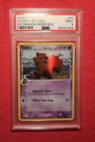 Pokemon 2006 EX Dragon Frontiers: Vulpix 70/101 - Reverse Holo Delta- PSA 9 Mint