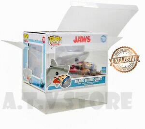 ATV Protector / Case  For Jaws - Shark Biting Quint SDCC 2019 Funko Pop x1