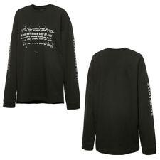 Puma Fenty X Rihanna Longsleeve Graphic Crew Neck Shirt Black 575871 01 A91B