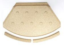 HWAM  Figaro Carmen Orthello Rauchleitplatte inkl. Vorderkante Vermiculite